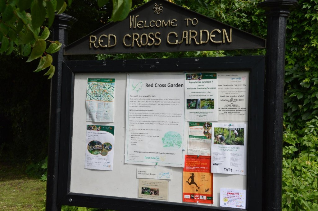 Welcome to the Red Cross Garden